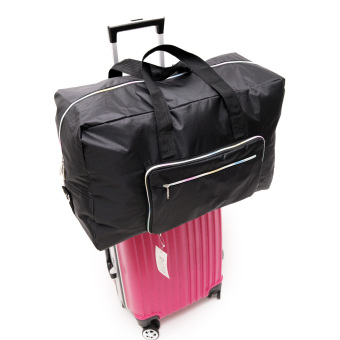 New style female large capacity folding luggage bag