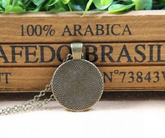 NEW Style Vintage Round Dome Glass of Game of Thrones Dragon Necklace - intl - 2
