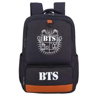 Newest Shop Hong Kong High Fashion BTS Big Size Rucksack KnapsackSchool Bag (Black) Price Philippines