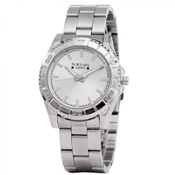 Newyork Army Analog Silver-tone Women's Watch NYA2021