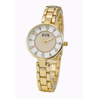 Newyork Army Analog Stunner Ladies Goldtone Watch NYA177