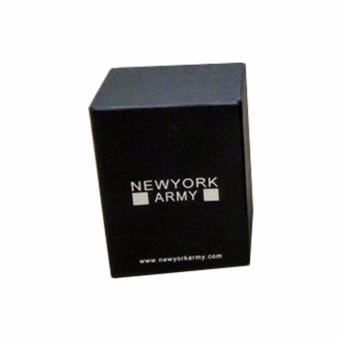 Newyork Army NYA194 Goldtone Strap Glitz Bezel Stainless Steel Watch For Women - 4