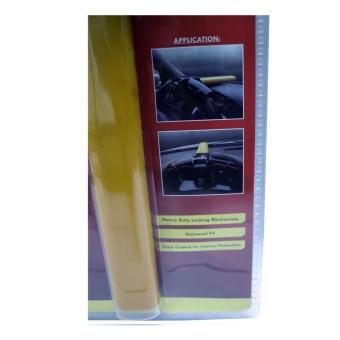 NFSC - Red X T-shape Universal Steering Wheel Lock - 2
