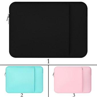 niceEshop 14 Inch Water Repellent Fabric Laptop Sleeve CaseNotebook Bag (Black) - intl - 5