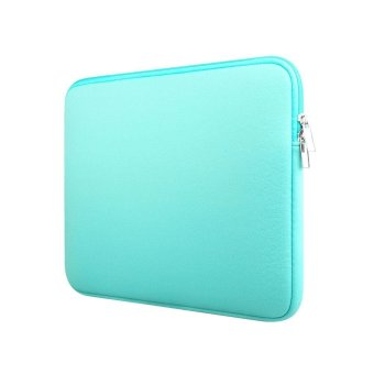 niceEshop Protective 14 Inch Neoprene Laptop Computer Sleeve Case Portable Slim Macbook Tablet Ultrabook Notebook Carrying Padded Bag For Apple/Dell/HP/Lenovo/Asus(Blue) - intl