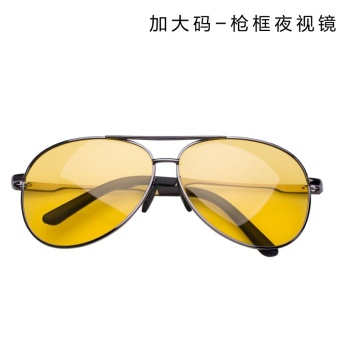 Night vision mirror aviator sunglasses driver at night vision glasses