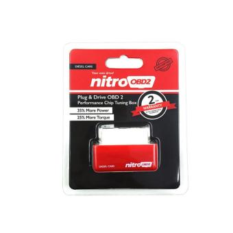 Nitro Plug & Drive OBD2 Performance Chip Tuning Box for DieselCars Red Price Philippines
