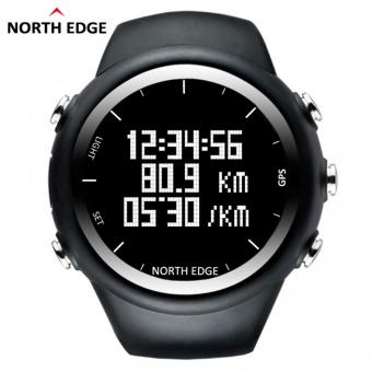 NORTH EDGE GPS Running Sports Digital Watch Men and Women SmartWatch for Swimming Diving Sailing Hiking Waterproof 5atm DistanceCalories