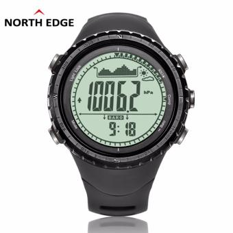 NorthEdge Men's sports Digital-watch with Altimeter BarometerCompass Thermometer Weather Forecast Pedometer Men Digital Watchfor outdoor Climbing Hiking Running Swimming Cycling Wristwatch