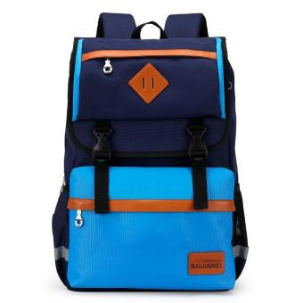 Nylon Backpack Waterproof Backpack Student School Bag For Boys -intl Price Philippines