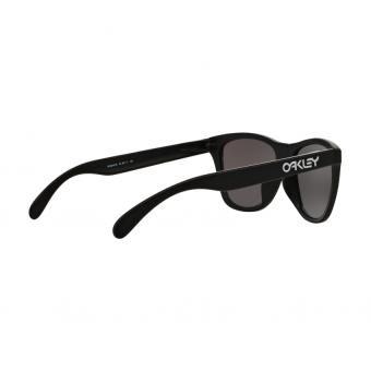 Oakley Herren Sonnenbrille 0Oo Frogskins (A) 924506, Schwarz (Matte Black/Iceiridium), 54