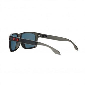 Oakley Sunglasses Holbrook (A) OO9244 Grey Smoke (924404) Size 56 Ruby Iridium - 5