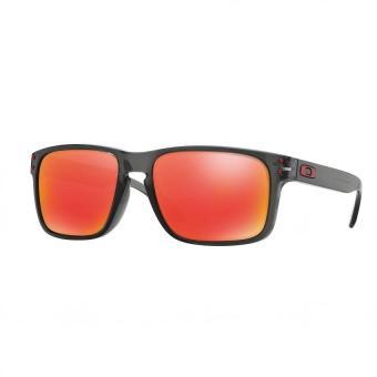 Oakley Sunglasses Holbrook (A) OO9244 Grey Smoke (924404) Size 56 Ruby Iridium - 3