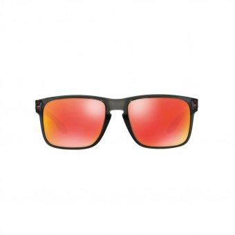 Oakley Sunglasses Holbrook (A) OO9244 Grey Smoke (924404) Size 56 Ruby Iridium - 2