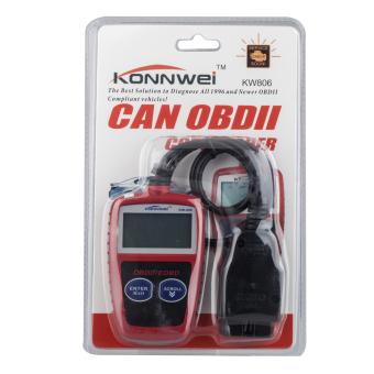 OBD2 OBDII Scanner CAN BUS Car Engine Trouble Data Scanner Car CodeReader - 4