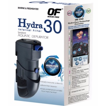 Ocean Free Hydra 30 Internal Filter and Depurator for AquariumTerrarium - 7.5 Watts Price Philippines