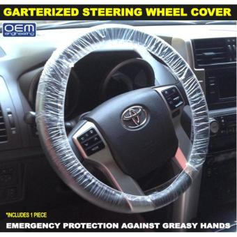 OEM Engineering Plastic Disposable Steering Wheel Covers 60s clearcover dust cover car shop work cover