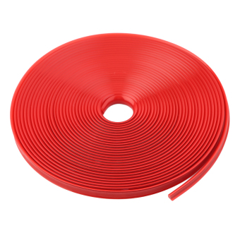 OH 8m Care Protector Stickers Tire Wheel Hub Strip Protector For BMW Car Styling red