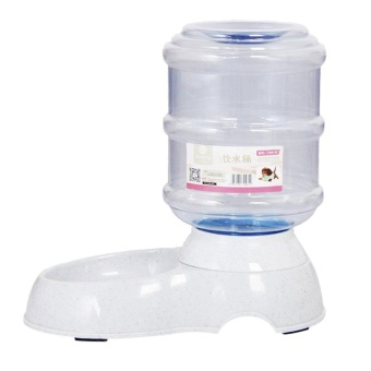 OH Automatic Dispenser Water Feeder For Dogs And Cats Large Capacity White - intl