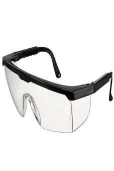 Okdeals Safety Eye Protection Clear Lens Goggles From Lab DustPaint Black Price Philippines