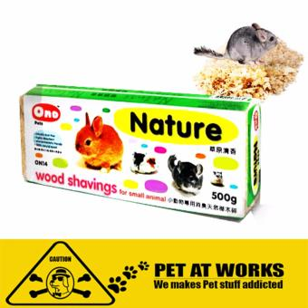 Ono Wood Shaving - Nature (500g) for hamster and other petsdeodorant natural wood pet Price Philippines
