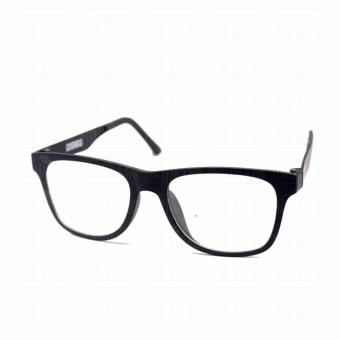 Optical Square 8616_BlackBlack Clear Lens Lightweight Replaceable Eyeglasses Multi-coated Computer Anti-Radiation Blue Lens - Unisex - 3