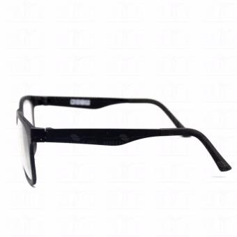 Optical Square 8616_BlackBlack Clear Lens Lightweight Replaceable Eyeglasses Multi-coated Computer Anti-Radiation Blue Lens - Unisex - 5