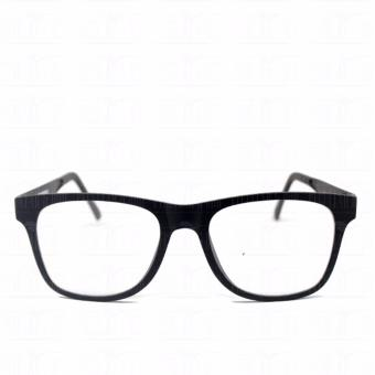 Optical Square 8616_BlackBlack Clear Lens Lightweight Replaceable Eyeglasses Multi-coated Computer Anti-Radiation Blue Lens - Unisex - 2
