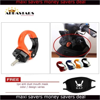 Orange Motorcycle Helmet Hook Helmet Holder for Yamaha Mio Sporty Price Philippines