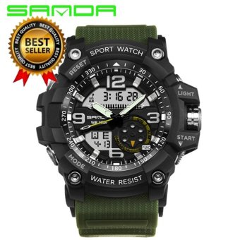 Original SANDA 759 G Style Military Waterproof Outdoor Sports Men's Shockproof Digital Watch - intl