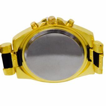 Orocan Three Eyes Strip Women's Two-Tone Stainless Steel StrapWatch (Black/Gold) BUY 1 TAKE 1 - 3
