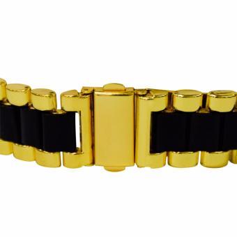 Orocan Three Eyes Strip Women's Two-Tone Stainless Steel StrapWatch (Black/Gold) BUY 1 TAKE 1 - 4
