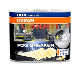 Osram FOG BREAKER HB4 headlight / foglight replacement bulb Price Philippines