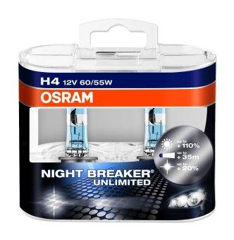 Osram Night Breaker Unlimited H4 Twin