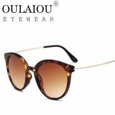 Oulaiou Women's Fashion Accessories Anti-UV Trendy Reduce Glare Sunglasses O1011 - intl