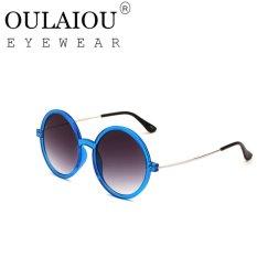 Oulaiou Women's Fashion Accessories Anti-UV Trendy Reduce GlareSunglasses O2008 - intl
