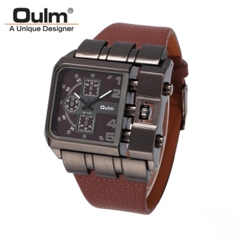 OULM 3364 Mens Casual PU Band Originality Watch - intl Price Philippines