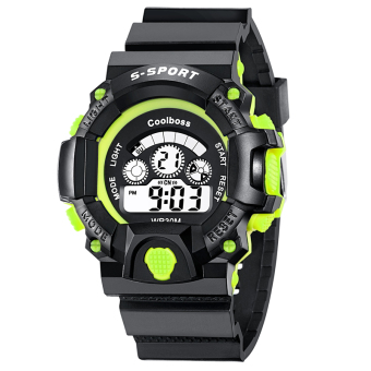 Outdoor hiking waterproof electronic watch men's watch