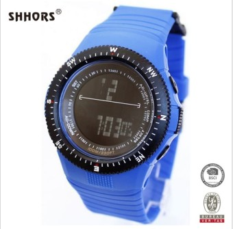 Outdoor Men led student multi-function men's watch waterproof sports watch