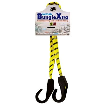 Oxford OF149 Bungee Xtra Heavy Duty Elasticated Strap(Yellow/Black)