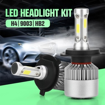 Pack of 2 COB LED Auto Car Headlight, 40W 10000LM All In One Car LED Headlights Bulb Fog Light, White 6000K Head Lamp Models:H4/HB2/9003