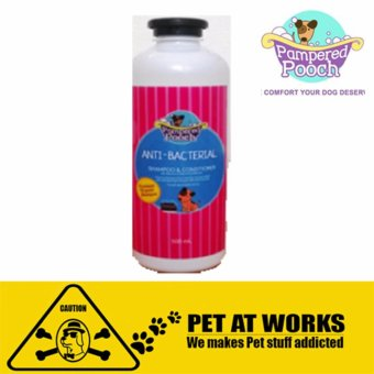 Pampered Pooch Anti-Bacterial (500ml) Organic shampoo andconditioner for Dog