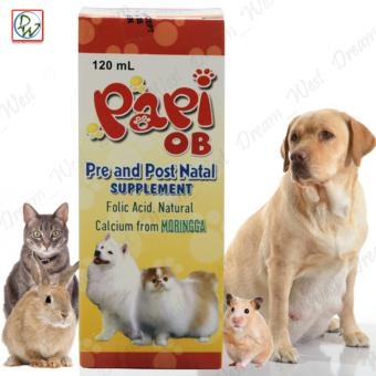 Papi Ob Pre and Post Natal Supplement 120mL For Dogs and Cats