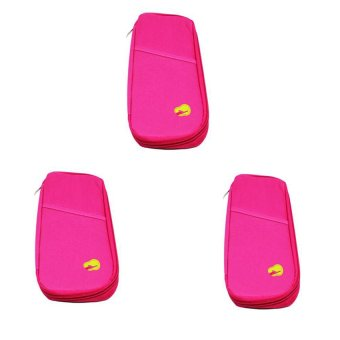 Passport Holder Long Set of 3 (Pink) product preview, discount at cheapest price