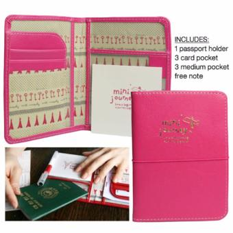 Passport Leather Case Holder Travel Organizer Ticket Card HolderPassport Cover Protector