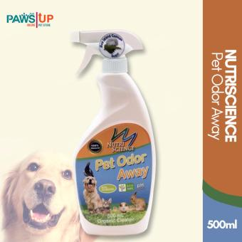 Paws Up Nutriscience Pet Odor Away Organic cleaner 500mL