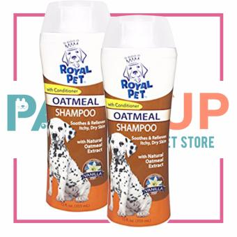 Paws Up Royal Pet Oatmeal Shampoo with Conditioner Vanilla ScentSet of 2 Price Philippines