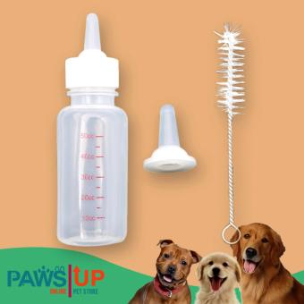 PAWS UP Small Pet Dog Puppy Cat Kitten Milk Nursing Care FeedingBottle Set