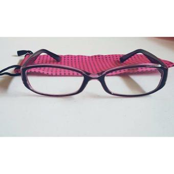 PC TV Anti Radiation And Fatigue Non Prescription Eye Glasses (purple)