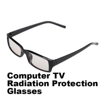 PC TV Eye Strain Protection Glasses Vision Radiation Eyewear Glasses for Men Women - intl